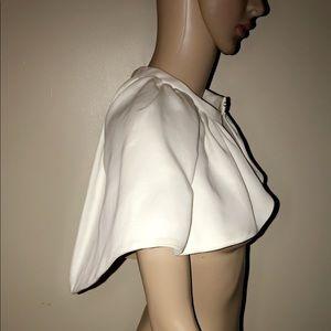 Burberry new white cape